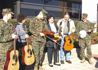 Donating Instruments to Naval Hospital